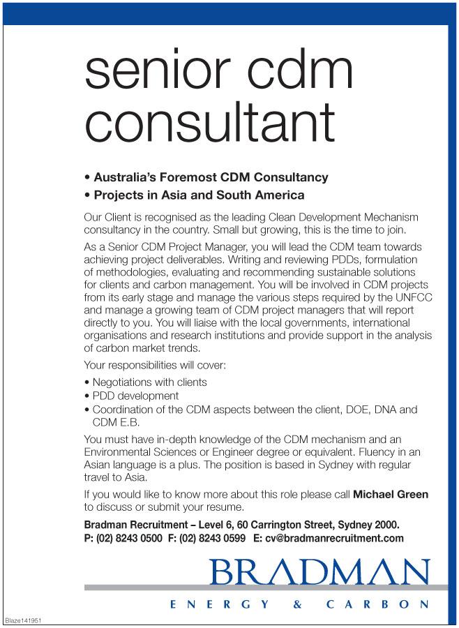 Cdm Consultant Resume